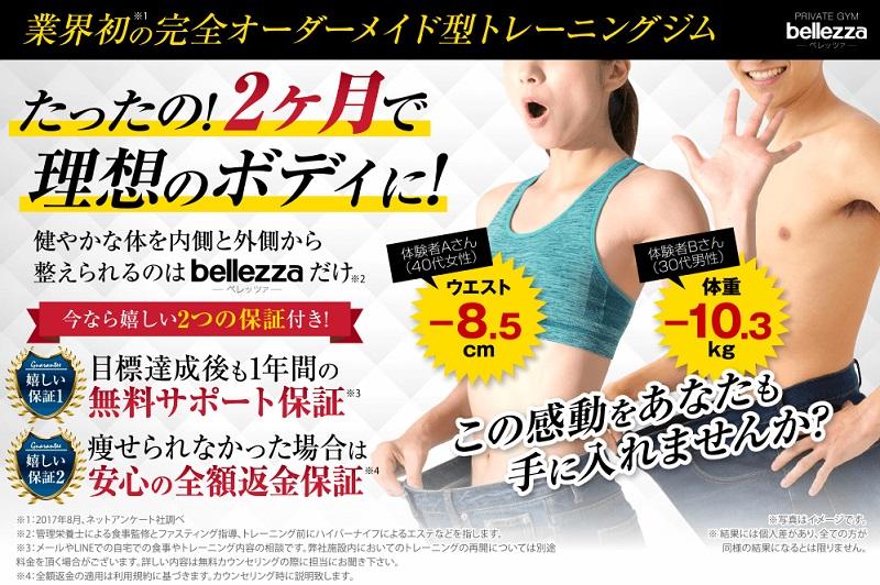 ベレッツァ (bellezza)のダイエット実績