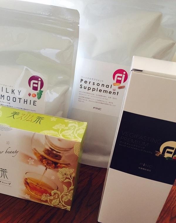FiNCダイエット家庭教師のサポート商品