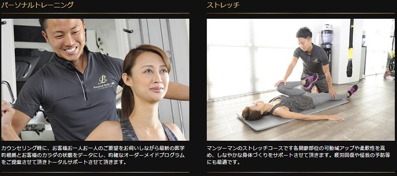 パーソナルボディラボ(Personal Body Lab)の特徴