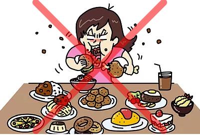 忙しい人のながら食べは太る
